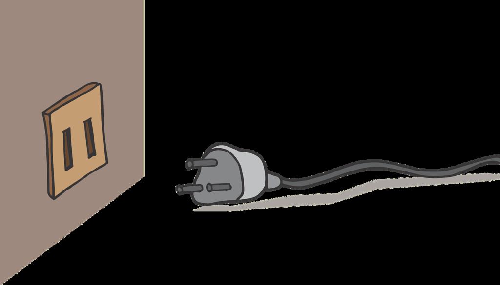 установка силовой розетки