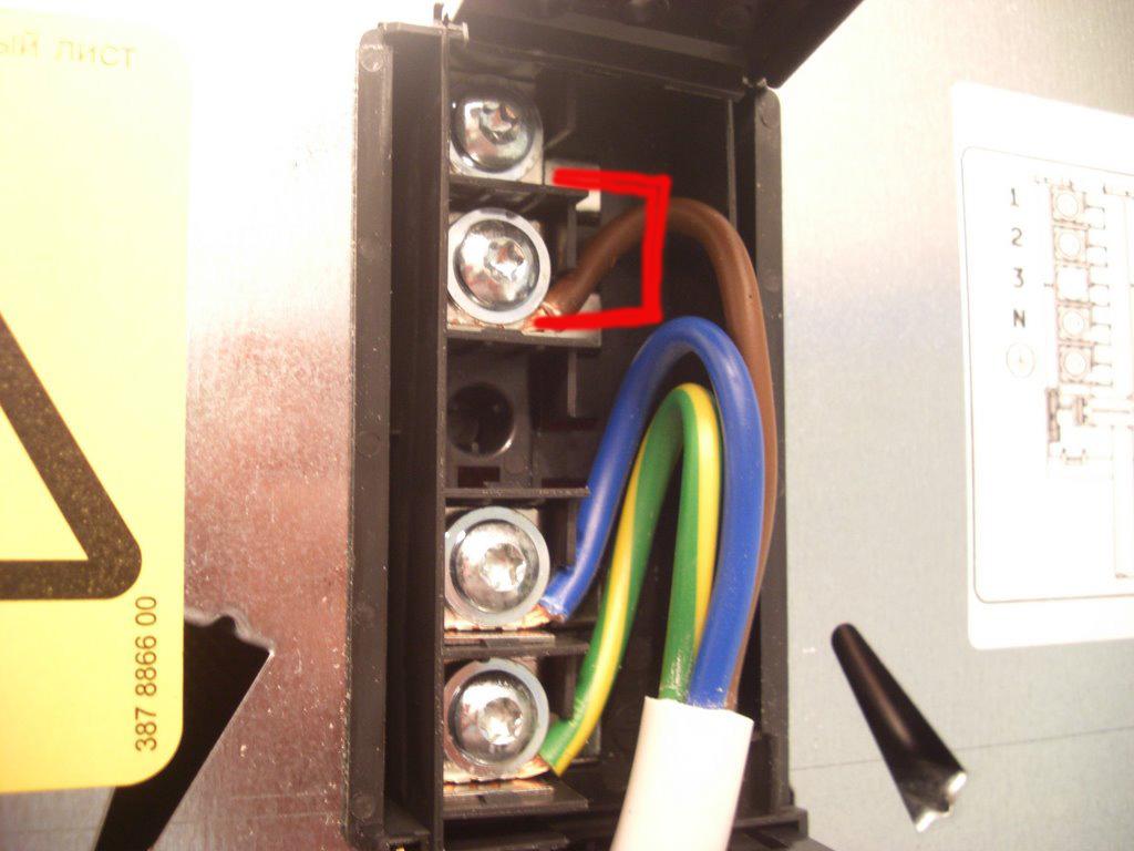 підключення електроплити