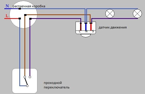 Підключення датчика руху